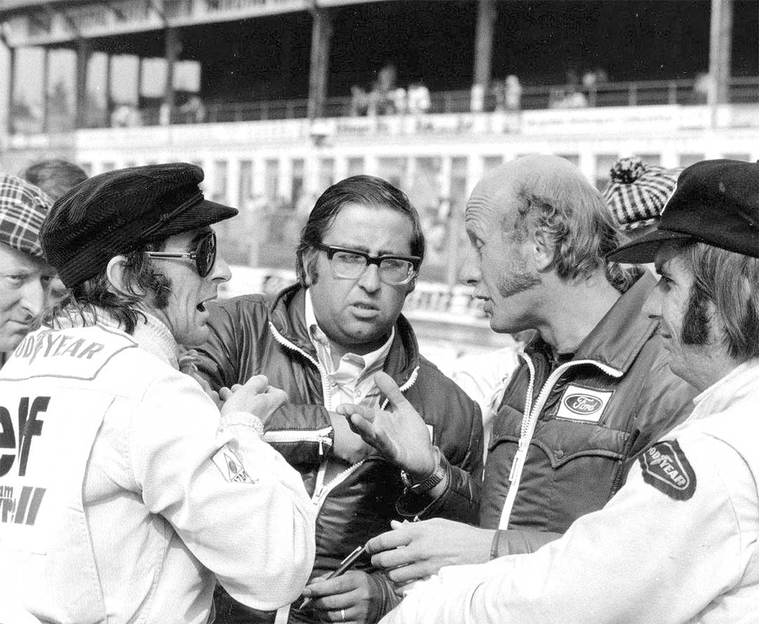 Diskussion am Nürburgring 1973