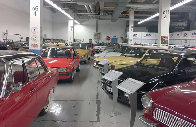 Besuch Ford Classic Cars