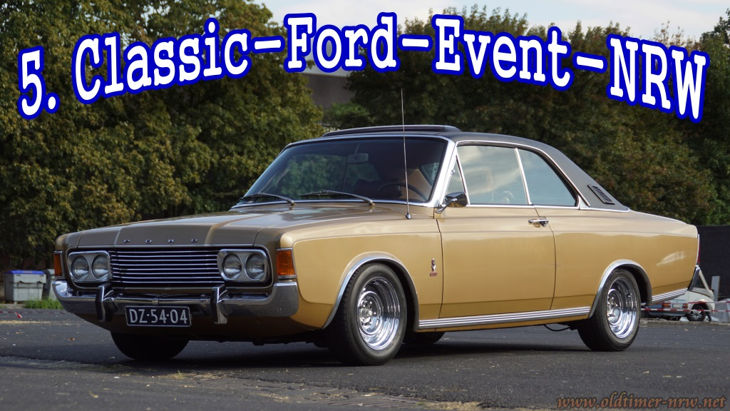 Classic Ford Event NRW 2019
