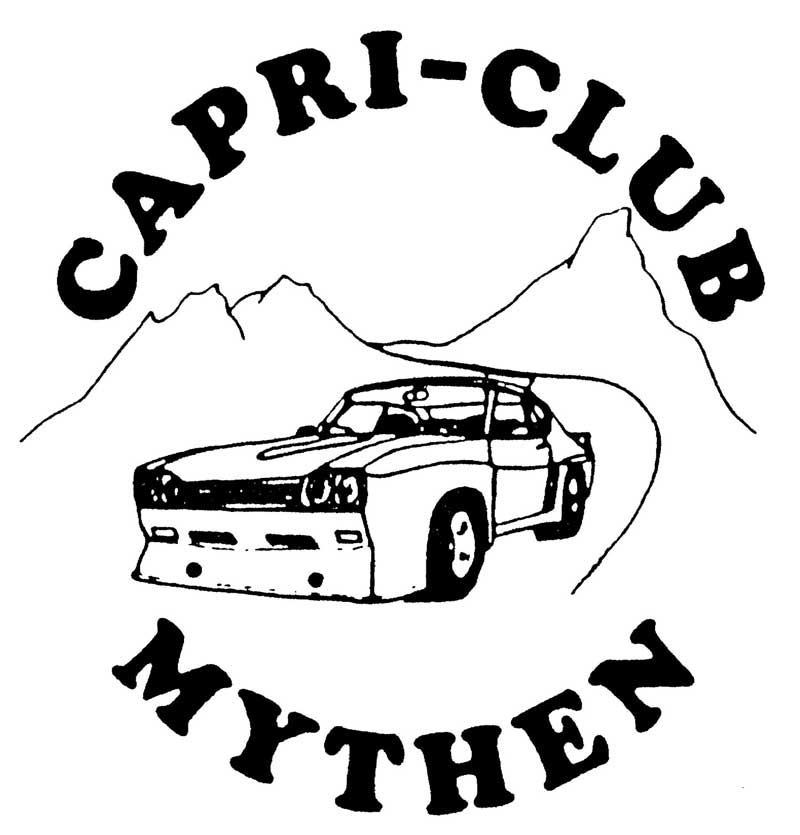 3. Internationales Ford Capri Treffen CC Mythen